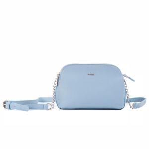 کیف برند فسیل رنگ آبی از جلو ( fossil tb-6101)