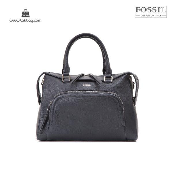 کیف برند فسیل رنگ مشکی از جلو ( fossil tb-6103)