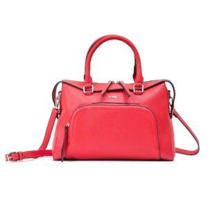 کیف برند فسیل رنگ قرمز از جلو ( fossil tb-6103)