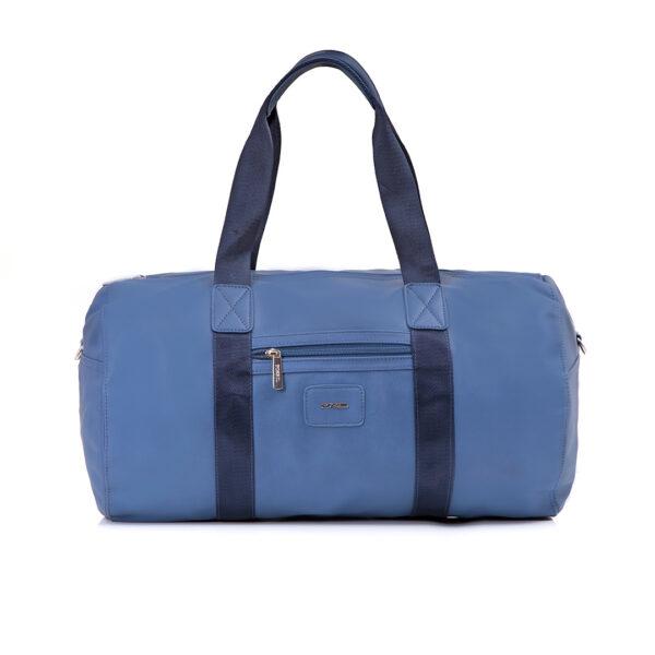 کیف برند فسیل رنگ آبی از جلو ( fossil tb-6111)