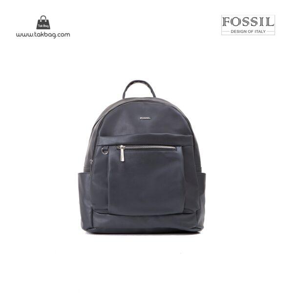 کیف برند فسیل رنگ مشکی از جلو ( fossil tb-6109)