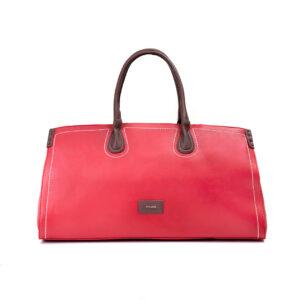 کیف برند فسیل رنگ قرمز از جلو ( fossil tb-6122 )