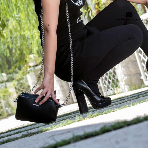 کیف رودوشی زنانه کد RM-2210 برند ماندیرو رنگ مشکی مدل ( mandiro RM-2210 )