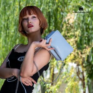 کیف رودوشی زنانه کد RM-2210 برند ماندیرو رنگ آبی با مدل ( mandiro RM-2210 )