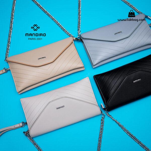 کیف رودوشی زنانه کد RM-2215 برند ماندیرو رنگبندی ( mandiro RM-2215 )
