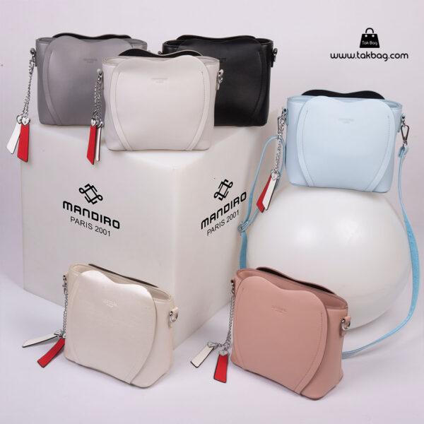 کیف رودوشی زنانه کد RM-2226 برند ماندیرو رنگبندی ( mandiro RM-2226 )