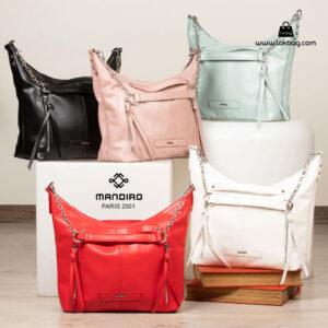 کیف رودوشی زنانه کد RM-2237 برند ماندیرو رنگبندی از جلو ( mandiro RM-2237 )