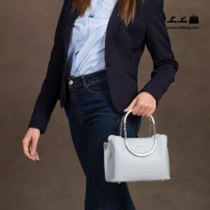 کیف رودوشی زنانه کد RM-2217 برند ماندیرو رنگ آبی با مدل ( mandiro RM-2217 )
