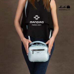 کیف رودوشی زنانه کد RM-2239 برند ماندیرو رنگ آبی با مدل ( mandiro RM-2239 )
