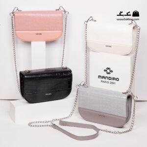 کیف رودوشی زنانه کد RM-2245 برند ماندیرو رنگبندی از جلو ( mandiro RM-2245 )